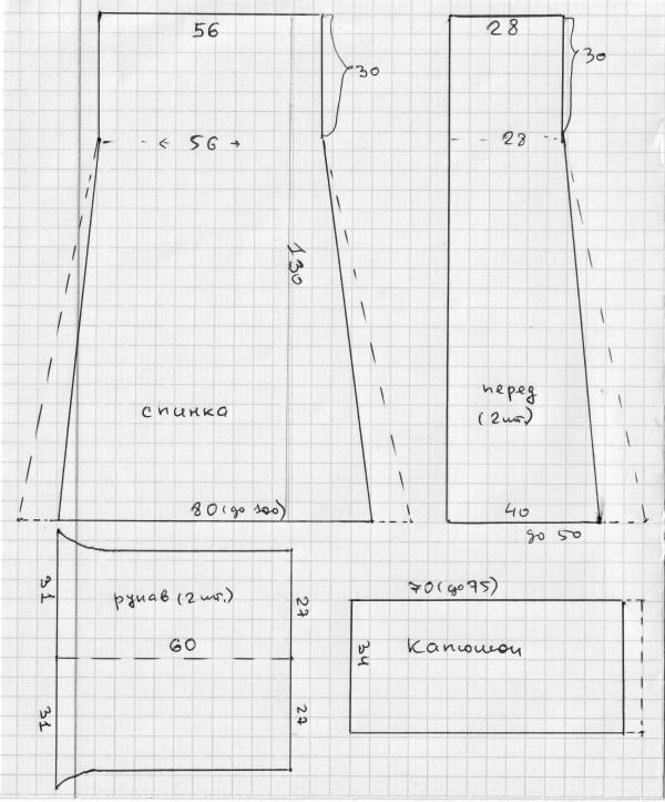 Выкройки для платья с длинным рукавом